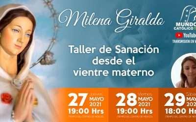 Milena Giraldo Taller de sanación desde el Vientre materno